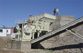 river stone Crushing Line